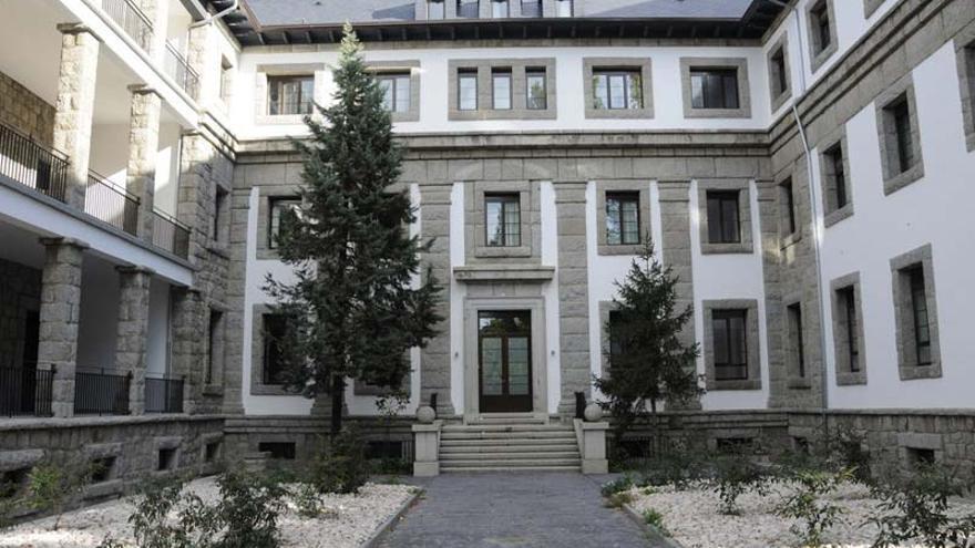 Fachada actual de la residencia de mayores Virgen de la Cabeza. / Asociación Pro-Huérfanos de la Guardia Civil