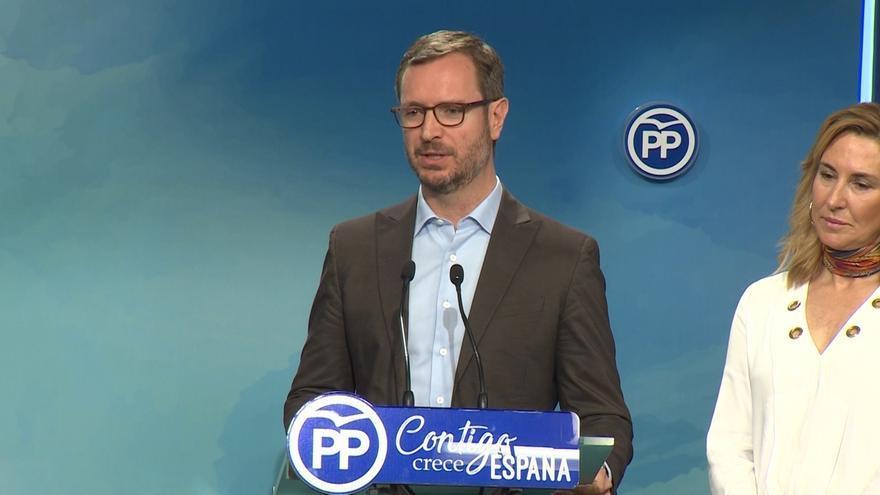 Maroto (PP) defiende a Catalá porque ha puesto voz a lo que piensa la gente