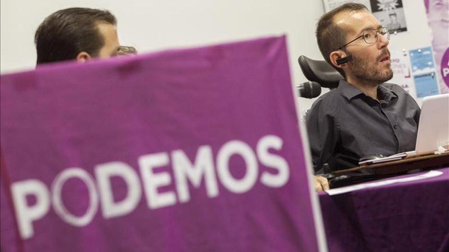 Echenique (Podemos) dice que limitar la instrucción es ayudar a la corrupción