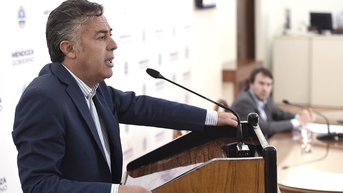 El presidente de la UCR y diputado nacional, Alfredo Cornejo