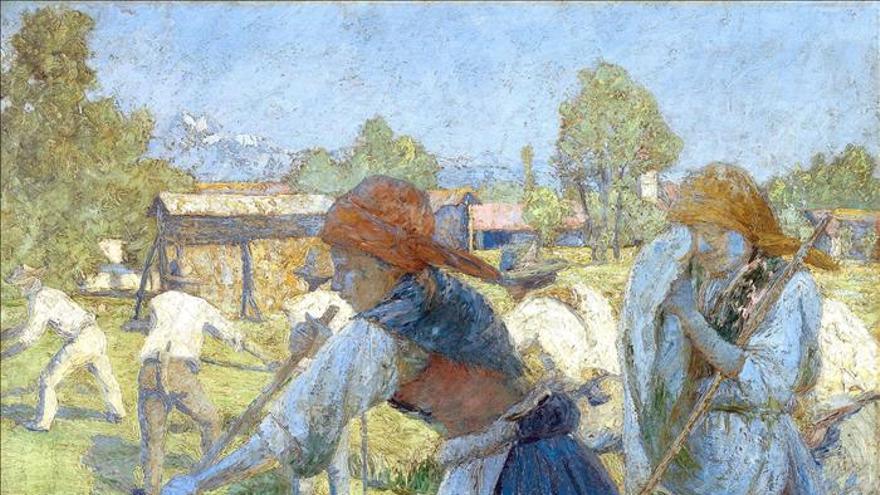 El impresionismo esloveno deja su país para exhibirse en París