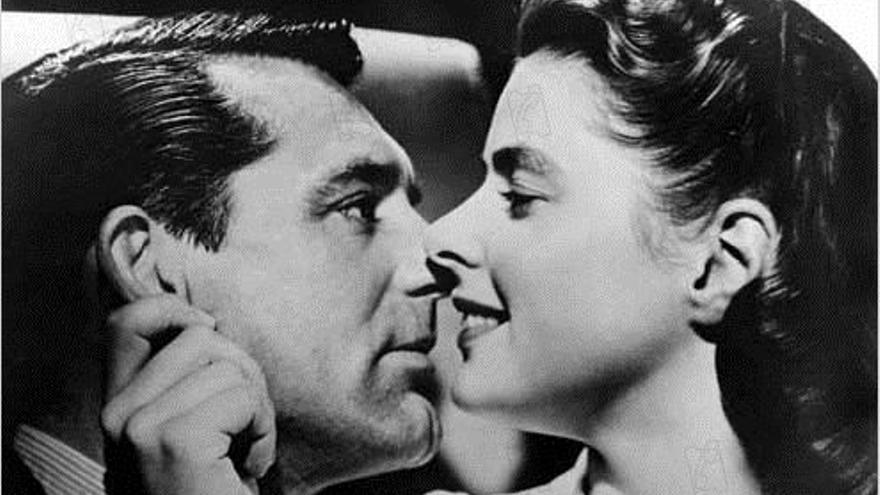 Cary Grant e Ingrid Bergman en 'Encadenados'