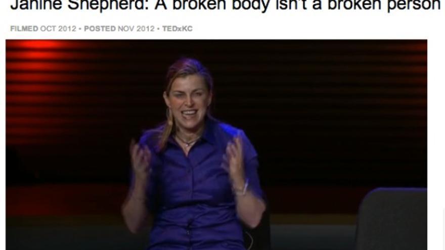 Janine Shepherd en TEDxKC