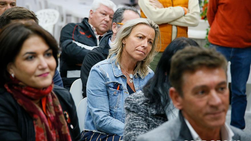 Isabel Albás, en la  noche electoral en Ciudadanos | MADERO CUBERO