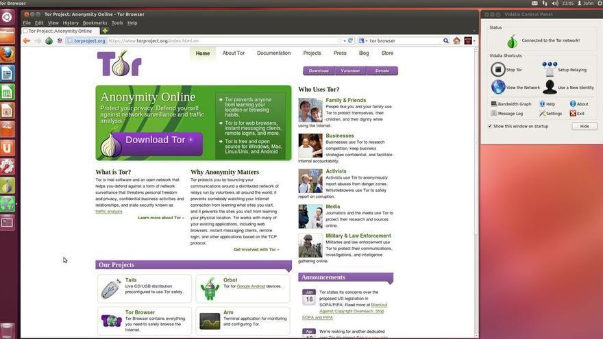 Tor, una red anónima que ayuda a proteger la identidad en Internet