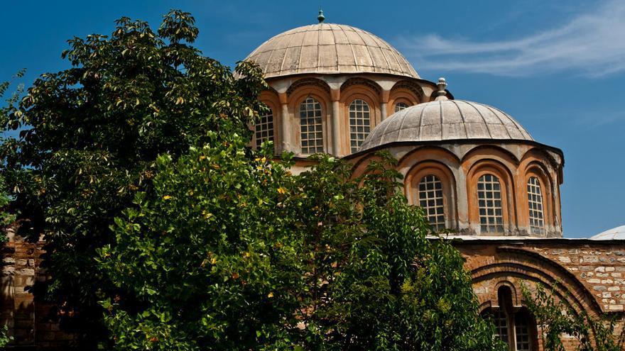Cúpulas de San Salvador en Chora, una de las joyas del arte bizantino de la cuidad. VIAJAR AHORA