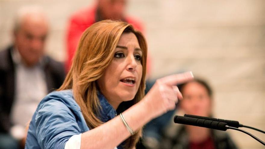 """Díaz: """"Quiero arrasar en las elecciones para abrir un nuevo tiempo en España"""""""
