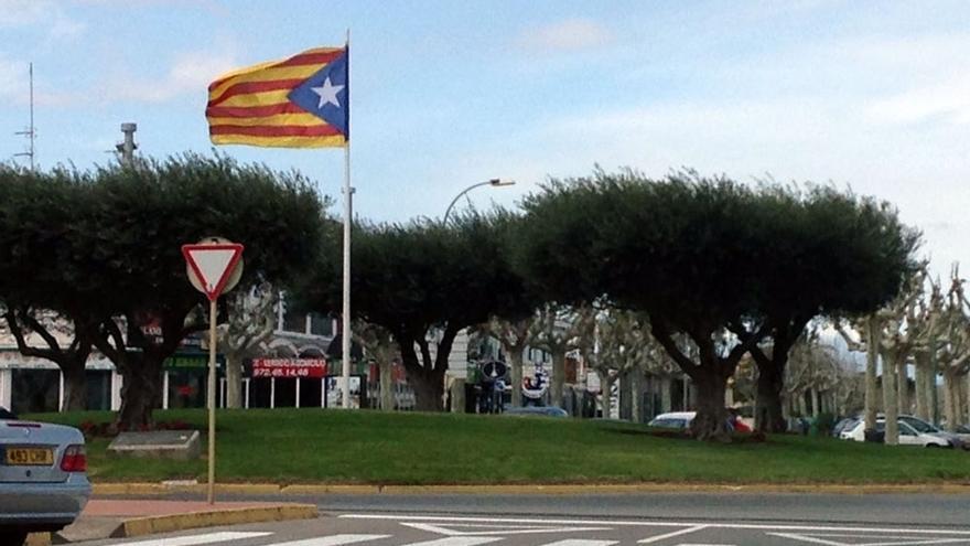 CiU alega ante la JEC que retirar 'esteladas' vulnera la libertad ideológica