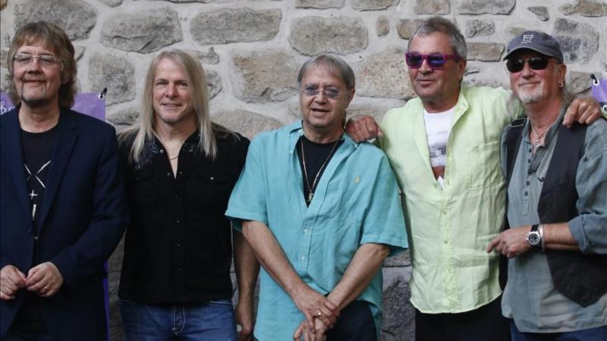 """Deep Purple propone en México una revolución musical """"sin mentiras"""""""