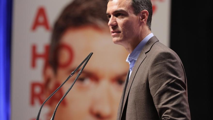 """Sánchez concluye del CIS que un Gobierno fuerte es posible si se unen """"los decididos y los indecisos"""""""