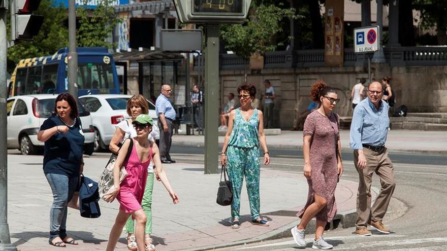 El calor repunta en casi toda España con máximas que subirán hasta 40 grados