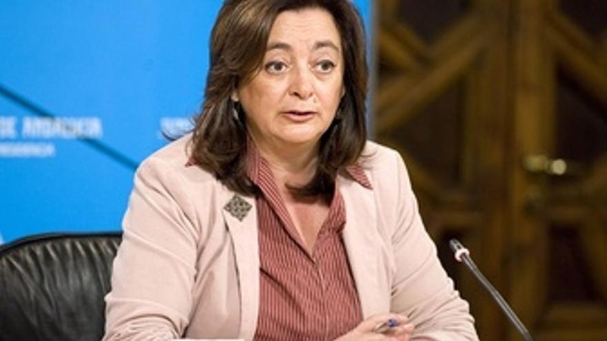 Mar Moreno, En Rueda De Prensa Tras Un Consejo De Gobierno