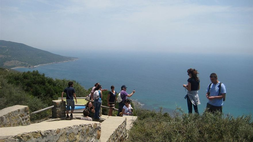 Vistas del Parque Natural del Estrecho.