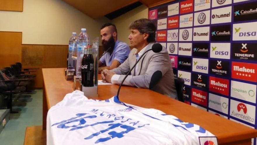 El secretario técnico del CD Tenerife y el fichaje de Marc Crosas