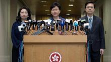 El Gobierno de Hong Kong seguirá adelante con el proyecto de ley de extradición pese a las protestas