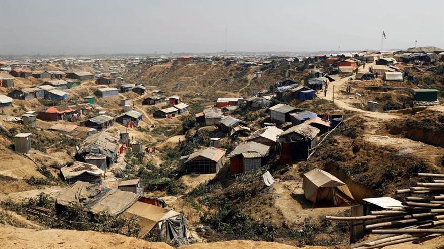 Un campo de refugiados