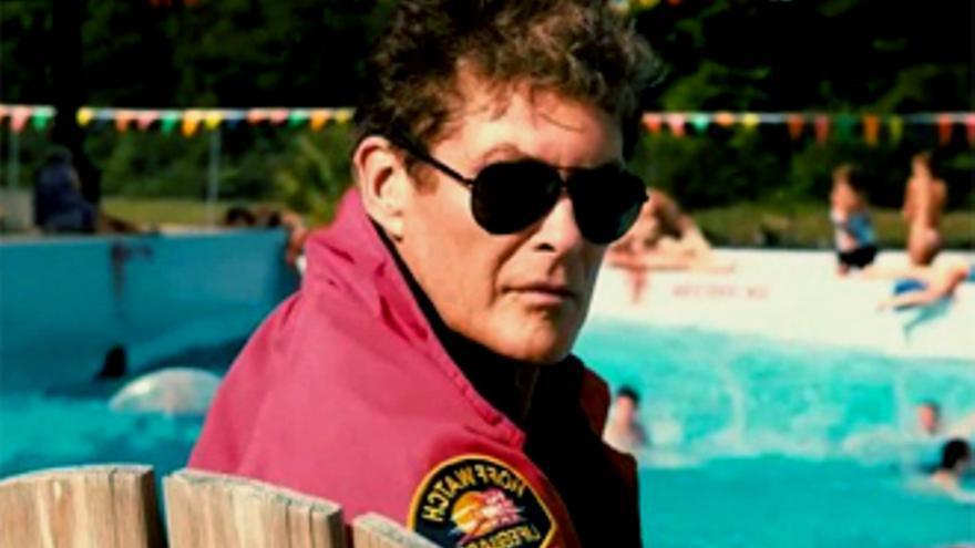 David Hasselhoff, un vigilante de la playa para 'Sharknado 3'