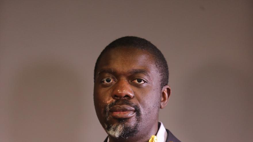 Jean Jacques Lumumba, activista contra la corrupción en el continente africano. Foto: La libre Belgique.