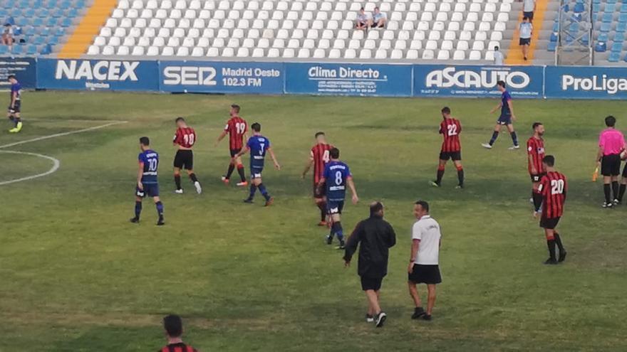 El estadio municipal El Soto no fue propicio este jueves para el Unión Viera.