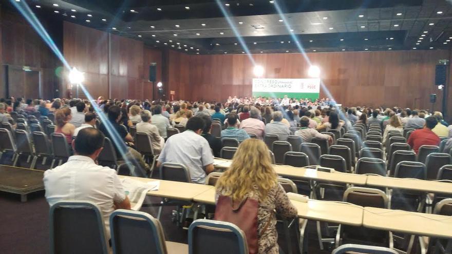 Momento del Congreso provincial de Sevilla