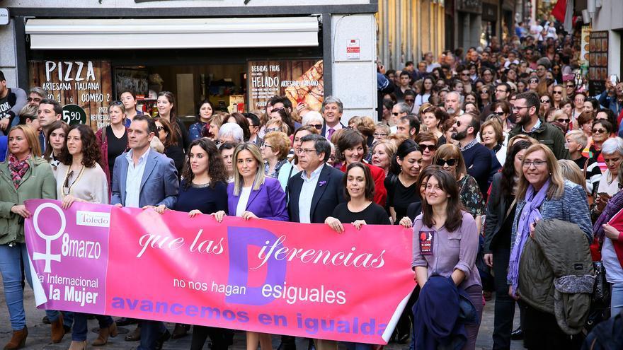 Marcha por el Día de la Mujer en Toledo / Ayuntamiento
