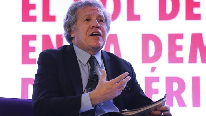 Almagro condena la represión contra las marchas opositoras en Venezuela
