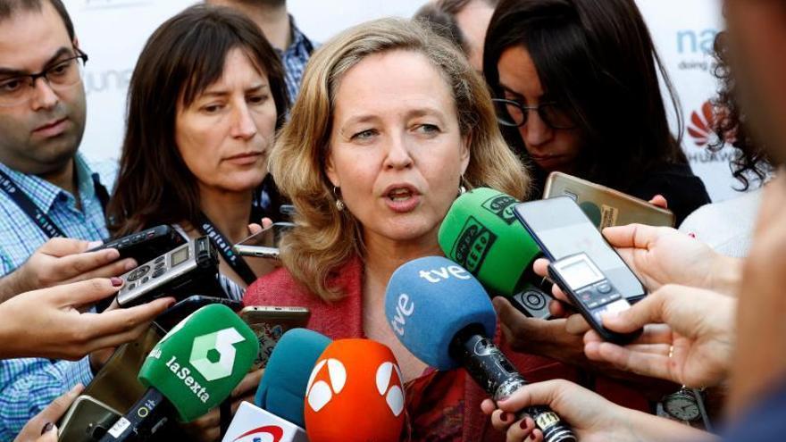 Calviño: El Gobierno no descarta implantar la tasa Google sólo en España