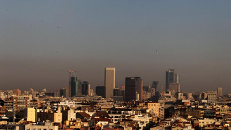 Contaminación en Madrid. (EUROPA PRESS)