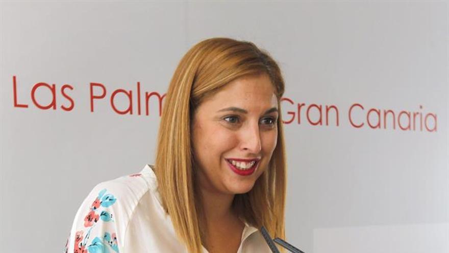 Isabel Mena, portavoz del PSOE en el Ayuntamiento de Las Palmas de Gran Canaria