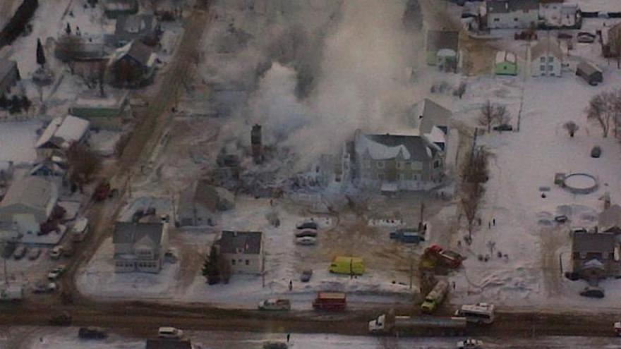 Elevan a 17 el número de muertos en el incendio de una residencia de ancianos en Canadá