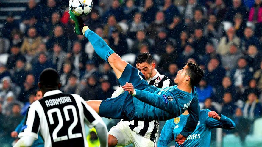 La chilena de Ronaldo en el Juventus-Real Madrid