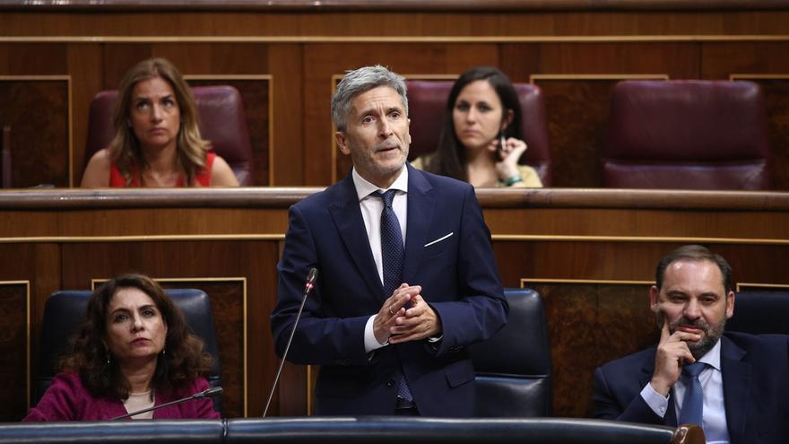Marlaska asegura que no ha habido todavía ninguna junta de tratamiento para acercar a presos de ETA a cárceles vascas