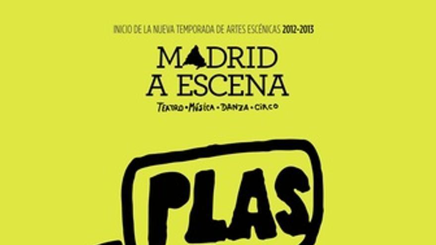 Cartel Madrid a Escena