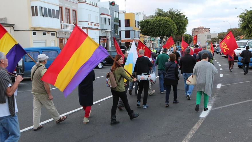 Movilización por la Exhumación de la Fosa Común de Las Palmas