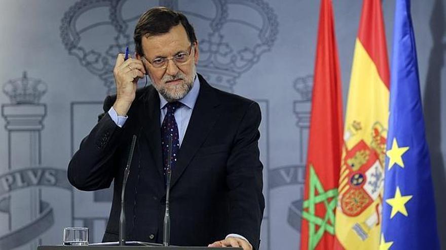 """Rajoy, irritado por previsibles pactos que """"no le gustan"""""""