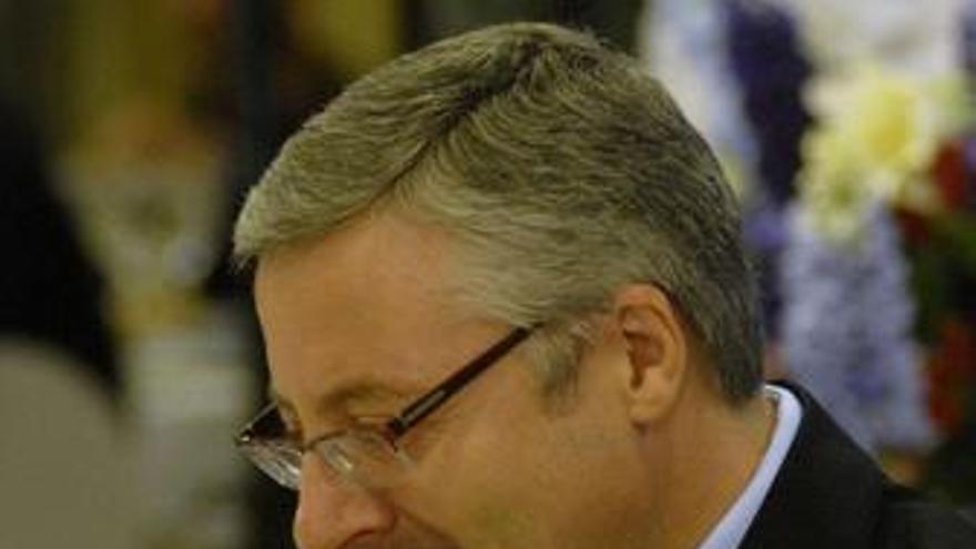El ministro de Fomento y vicesecretario general del PSOE, José Blanco. (EP)