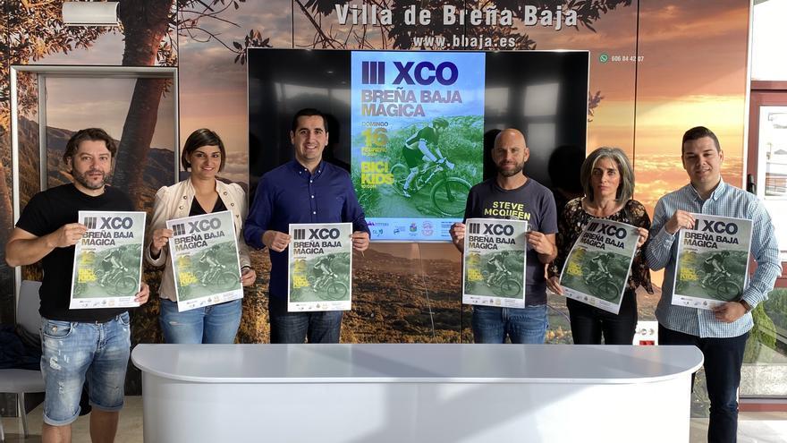Presentación de la  'III XCO Breña Baja Mágica'.