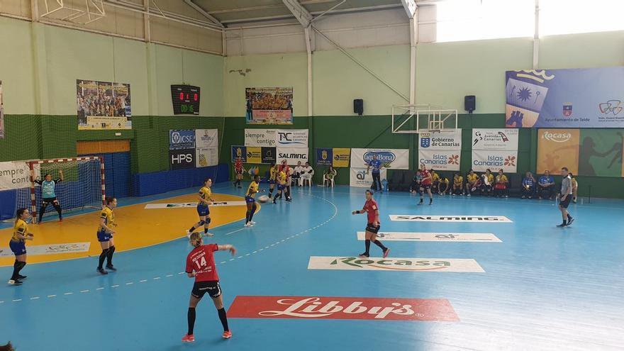 Acción del duelo disputado en la competición europea