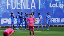 Mala imagen del CD Tenerife en el Fernando Torres de Fuenlabrada.