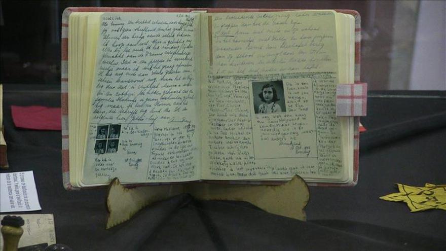 Los diarios de Ana Frank podrán ser copiados para la investigación científica