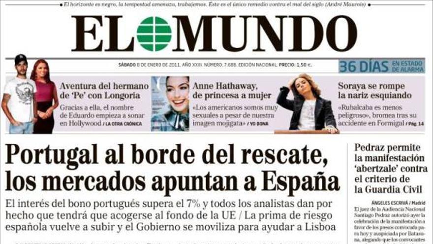 De las portadas del día (08/01/2011) #8