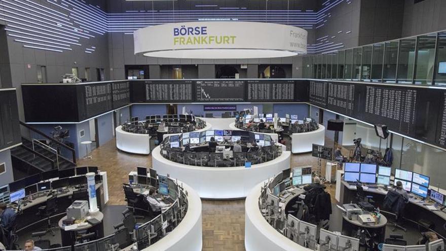 La Bolsa de Fráncfort sube un 0,38 % en la apertura