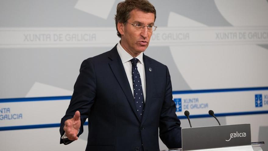 """Feijóo: """"Nunca aconsejaría a Rajoy gobernar si pierde las elecciones, aunque sume con otros partidos"""""""