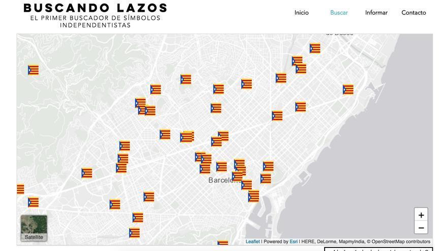La web buscandolazos.com fue lanzada el pasado martes y desactivada este jueves