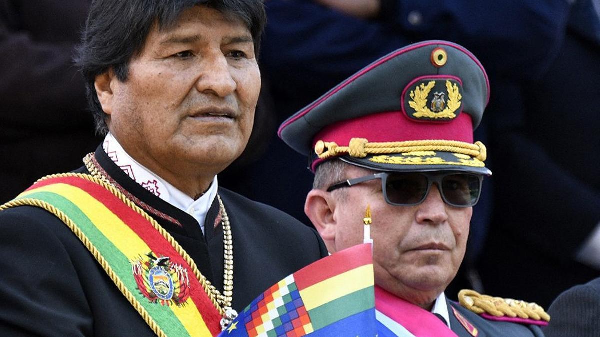 El excomandante de las Fuerzas Armadas, Williams Kaliman Romero.