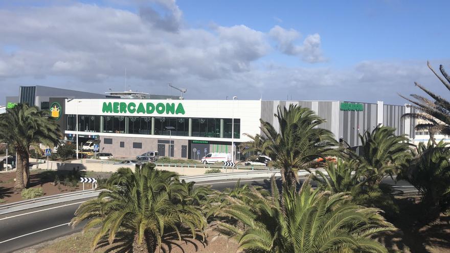 Nueva tienda de Mercadona en el Cruce de Melenara.
