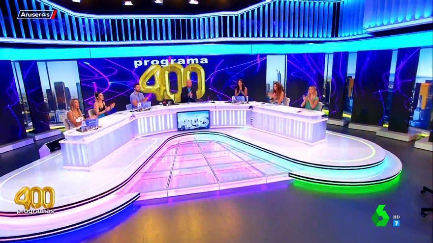 'Aruser@s' celebra sus 400 programas