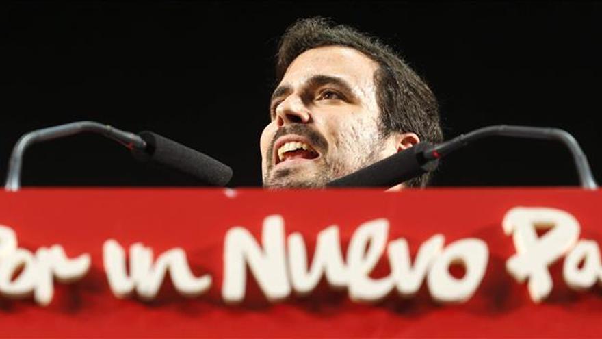 Garzón pide a los indecisos que voten por el proyecto coherente e incorruptible de IU