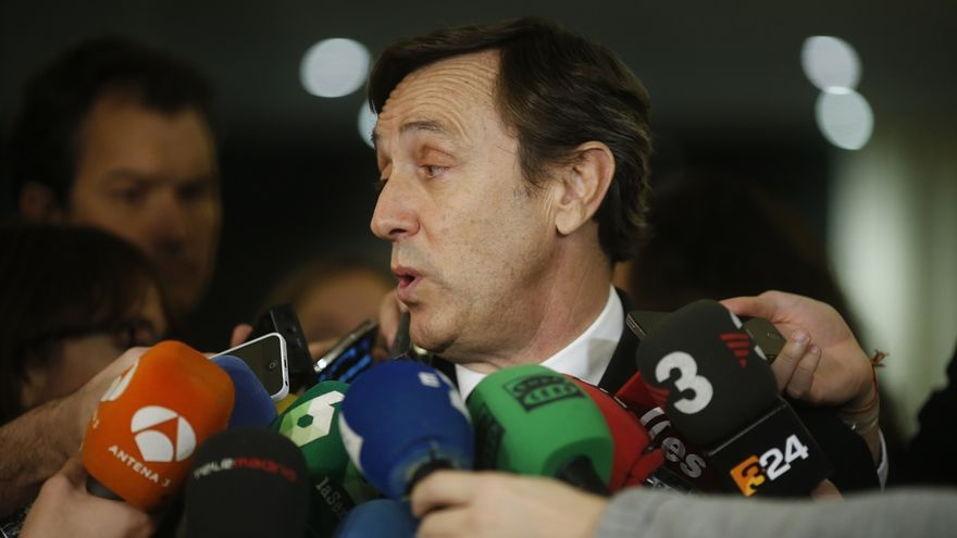 """Hernando (PP) no comenta los mensajes de Bárcenas: """"No voy a convertirme en cronista de tribunales"""""""