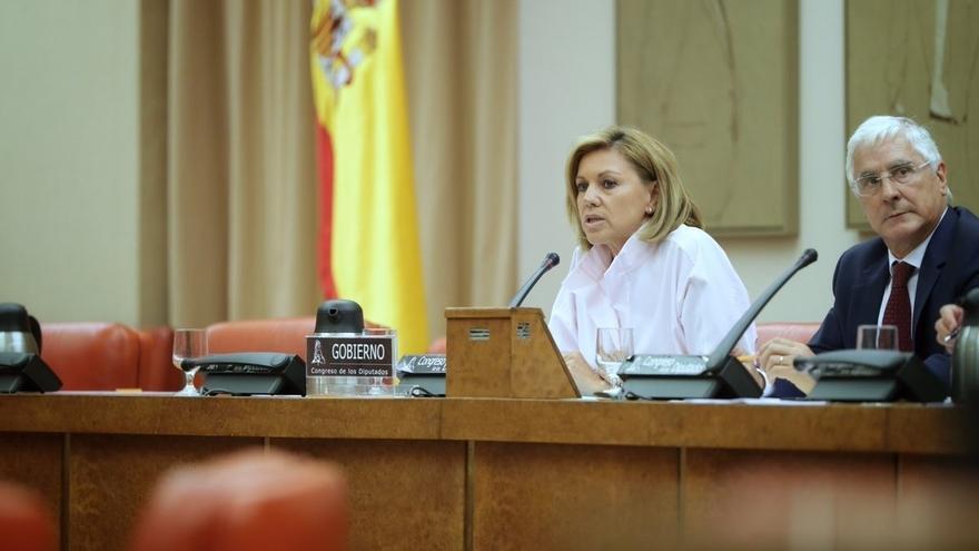 Cospedal remarca a la oposición que la efeméride del 18 de julio que censuran se viene repitiendo desde 2005